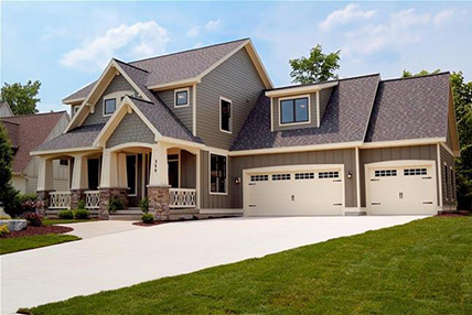 Carriage House Stamped Garage Doors In Chicago Call Us