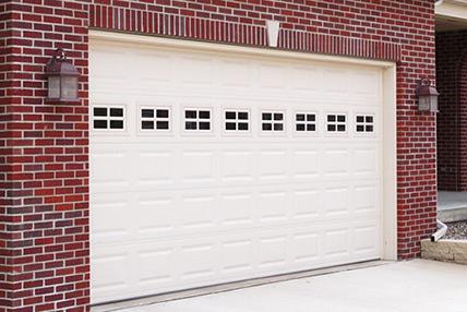 Raised panel garage door 2240 for Garage door repair oak lawn il