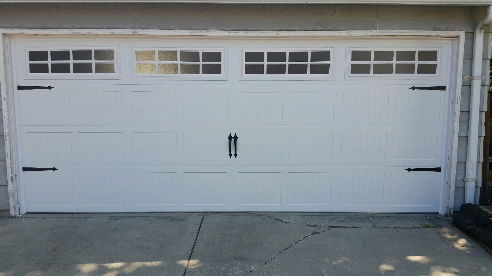 New Garage Door Installed Chicago Il Mt Greenwood After