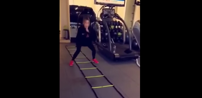 Khloe Kardashian works out in her garage... So can you!